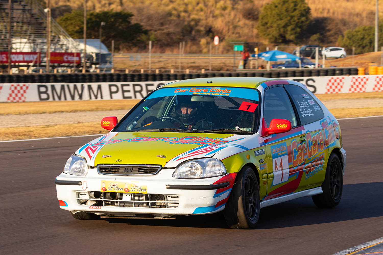 Car Care Clinic 111 Sports & Saloons finale at Zwartkops