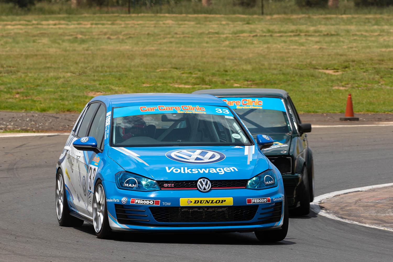 Class X winner Piet Potgieter